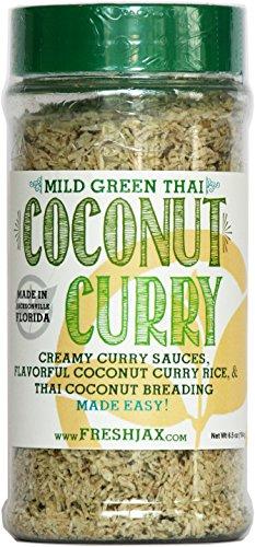 FreshJax Mild Thai Coconut Curry (Green Curry, Single) (Coconut Mild Sauce)