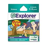 Juego de aprendizaje Disney Phineas y Ferb de LeapFrog (funciona con tabletas LeapFrog, LeapsterGS y Leapster Explorer)