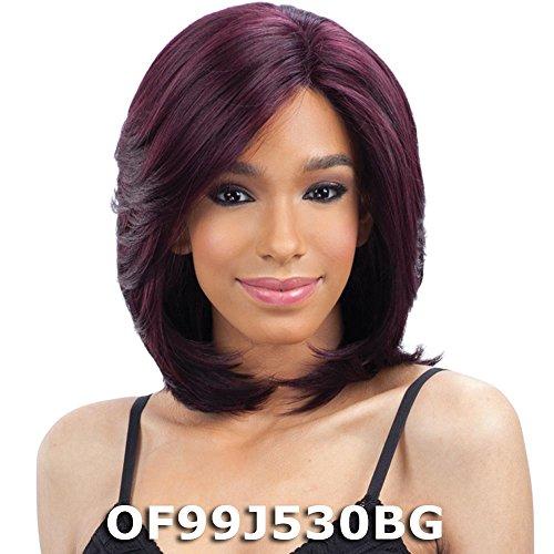 - FreeTress Equal Silk Base Lace Front Wig - SILK LAYERED BOB (OTDKPU)