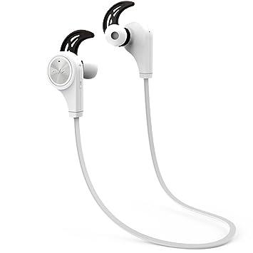 5ive® Auriculares Bluetooth Deporte Cascos Inalambricos para Correr Bluetooth V4.1 Inalámbrico Sport Auriculares con Micrófono llamadas Manos Libres ...