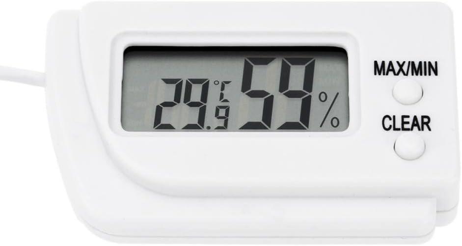 Thermomètre numérique et hydromètre Thermomètre à oeufs d/'incubation de