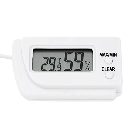 Generic Portable Digital Thermohygraphs Meter Tortoise Hatching Eggs Thermometer