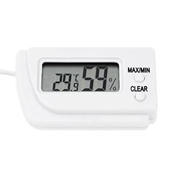 Digital Temperatura Y Medidor de Humedad Tortuga Huevos Para Incubar Termómetro: Amazon.es: Bricolaje y herramientas