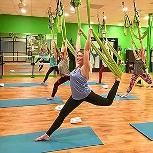 NFNFUNNM Hamaca De Yoga Aérea Hamaca De Yoga para El Hogar ...