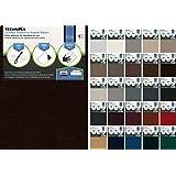 Leather & Vinyl Adhesive Repair Patch (Dark Brown)