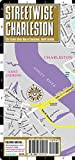 img - for Streetwise Charleston Map - Laminated City Center Street Map of Charleston, South Carolina - Folding pocket size travel map book / textbook / text book