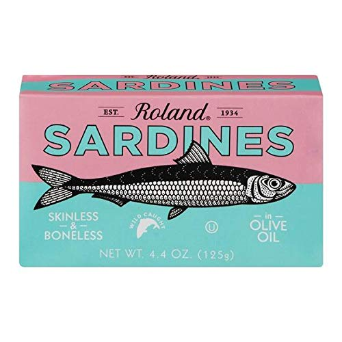 Sardines Skinless and Boneless in Olive Oil (Roland) 125g