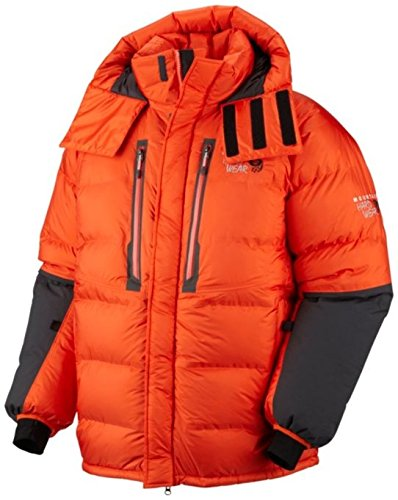 Mountain Hardwear Absolute Zero Parka, State Orange/Shark, Medium
