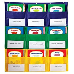 Carson Dellosa Center Storage Pocket Chart (158160)