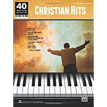 40 Sheet Music Bestsellers - Christian Hits: Piano/Vocal/Guitar