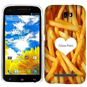 For BLU Studio 5.0 I love Fries Case Cover
