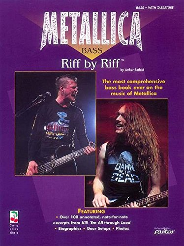 - Metallica - Bass Riff by Riff, Volume 1