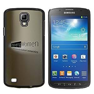 "Be-Star Único Patrón Plástico Duro Fundas Cover Cubre Hard Case Cover Para Samsung i9295 Galaxy S4 Active / i537 (NOT S4) ( Mujer de trabajo Poder Derechos potentes"" )"