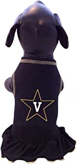 product image for All Star Dogs NCAA Vanderbilt Commodores Dog Cheerleader Dress