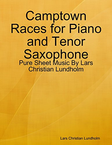 Camptown Races for Piano and Tenor Saxophone - Pure Sheet Music By Lars Christian Lundholm