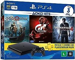 Console PlayStation 4 - Slim 1TB - Hits Bundle