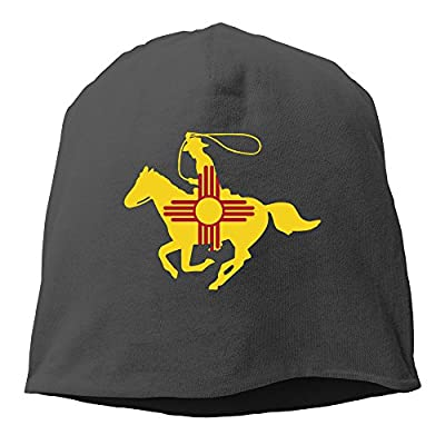 New Mexico Flag Cowboy Hedging Knitted Hat Beanies Caps