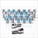PA (20) Cone Seat Wheel Lug Bolts In Chrome ~ Thread Size 14X1.5 | 27mm Shank