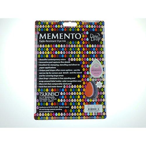 Tsukineko MD012300 Memento Dew Drops Fade Resistant 12-Piece Dye Inkpads Assortment, Snow Cones