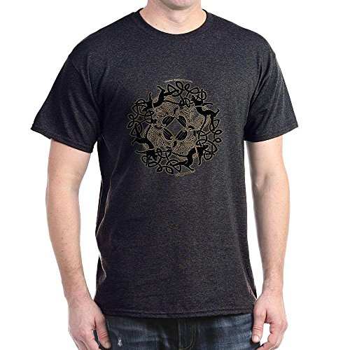 (CafePress Samhain Celtic Knot T-Shirt Design In Dark Colors 100% Cotton)