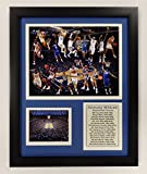 """Legends Never Die NCAA University of Kentucky Basketball Greats Double Matted Photo Frame, 12"""" x 15"""""""