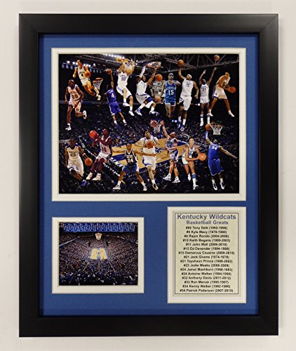 AA University of Kentucky Basketball Greats Double Matted Photo Frame, 12