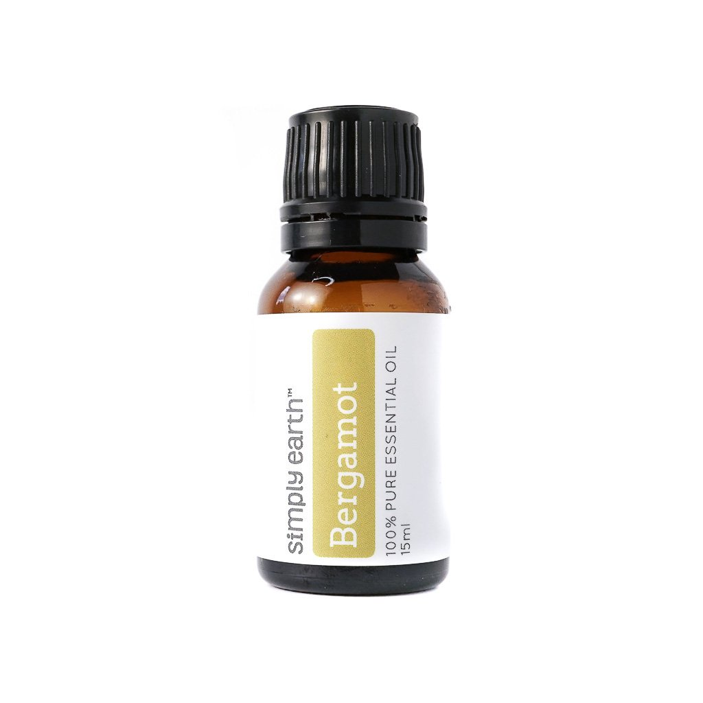 Simply Earth Bergamot Essential Oil - 15 ml, 100% Pure Therapeutic Grade