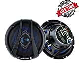SPEAKFRIENDS SFV654 6.5-Inch 800 Watt Full-Range 4-Way Coaxial Audio Car Speakers (Pair)