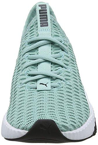 Chaussures De Femme Puma White Defy aquifer puma Wn's 04 Bleu Fitness gR4aE4