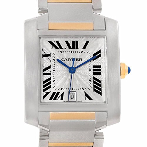 Cartier Tank Francaise automatic-self-wind mens Watch W51005Q4 (Certified Pre-owned)