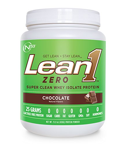 Nutrition 53 Lean 1 Zero, Chocolate, 1.69 Pound