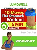 10 Moves Flat Stomach Workout - Best Exercises