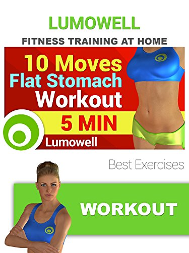 Exercise Products : 10 Moves Flat Stomach Workout - Best Exercises