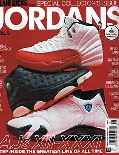 Slam Kicks Presents Jordans Magazine Issue 51