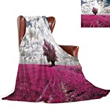 SATVSHOP Throw blanket-50 x30-Hypoallergenic Blanket for Bed Couch Chair Fall Winter Spring.Tropical Sunset