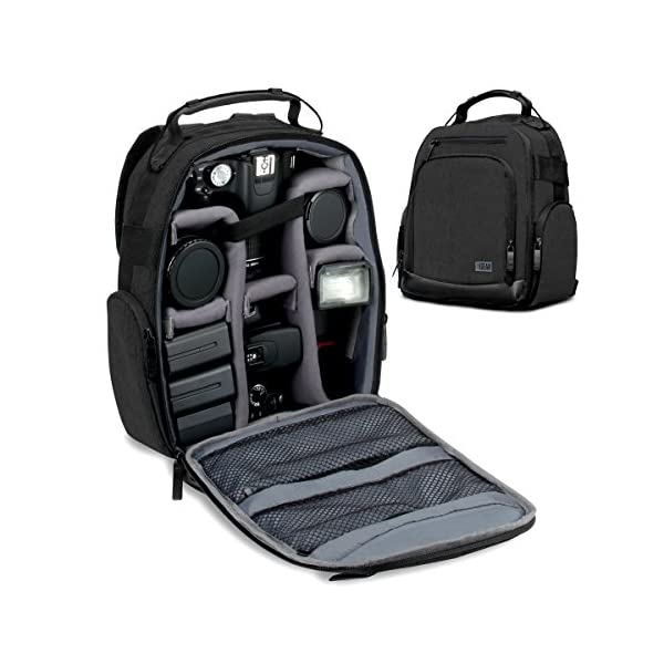 GOgroove Full-Size DSLR Photography Backpack Case