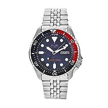 Seiko Men's SKX009K2 Diver's Automatic Blue Dial Watch
