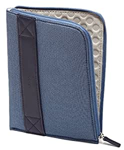 Funda con cremallera Amazon para Kindle, color azul (sirve para Kindle Paperwhite, Kindle y Kindle Touch)
