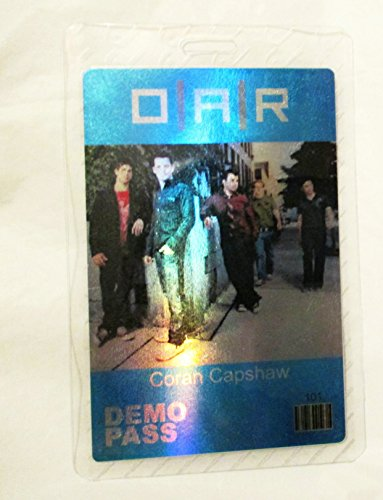 Laminated Oar - OAR O.A.R Hologram Laminated Backstage Pass