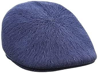 Kangol Men's Indigo 507 Flat Caps, Indigo Wash, M