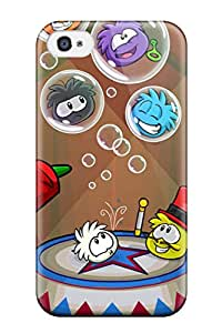 New ZippyDoritEduard Super Strong Awesome Club Penguin Tpu Case Cover For Iphone 4/4s