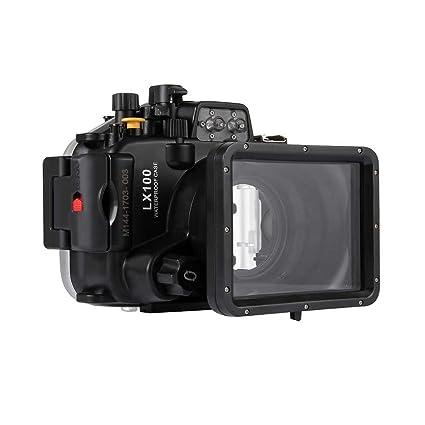 HSKB - Funda Impermeable para cámara Lumix DMC-LX10, Resistente al ...
