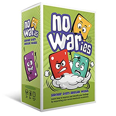 Social Emotional Games NoWaries S.T.O.R.M. | Best Educational Learning Resources for Kids & Adults | Emotional Awareness, Control, & Vocabulary | Fun for School & Therapy | Pack of 110 Playing Cards: Toys & Games