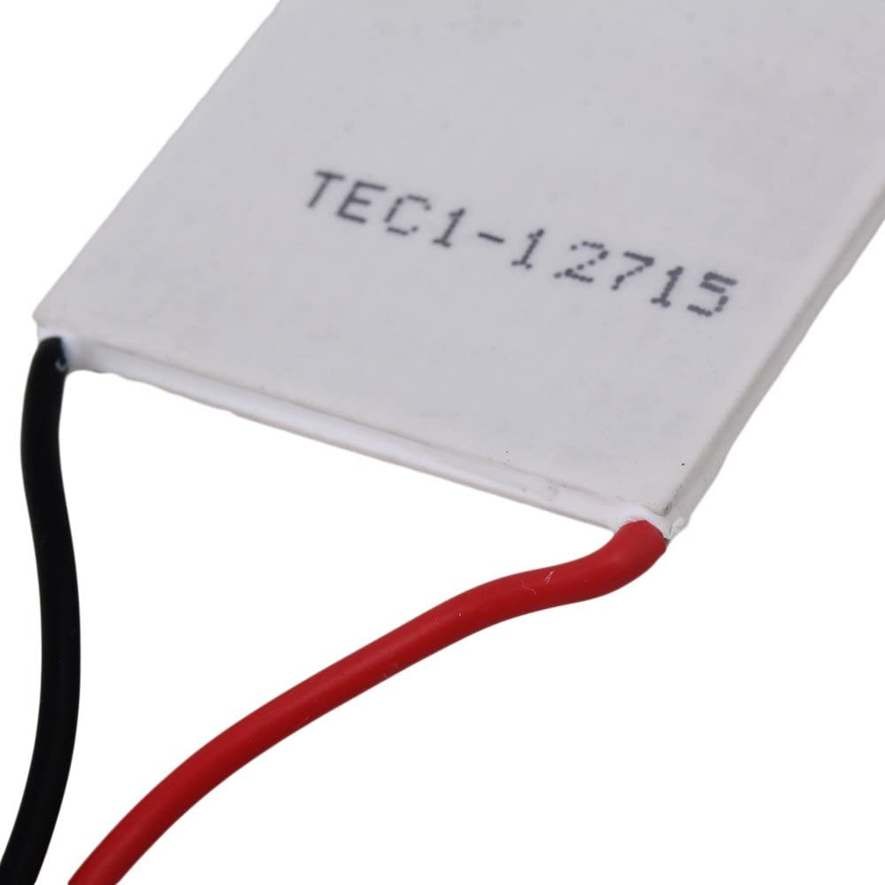 40 x 40mm Thermoelectric Peltier Cooler TEC1-12715 White