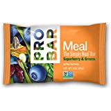 ProBar Meal Bar - Superberry and Greens - Certified Organic - 12 Pack, 3 Ounce