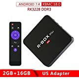 Android TV Box Smart Media Streaming Player with Wireless by SCSETC,4K RK3228 Quad Core Set Top Box Support USB/PC/3D/Video/XBMC/Picture, R-Box Plus