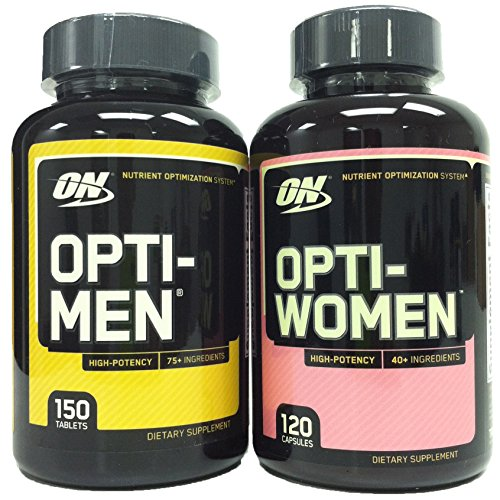 Optimum Nutrition Opti Men Multivitamin Opti Women