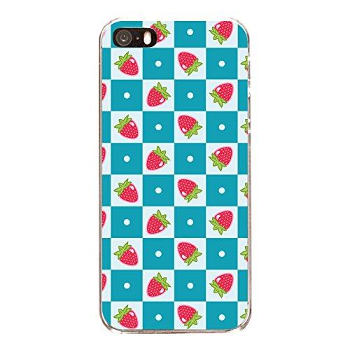 """Disagu SF-sdi-4558_1145#zub_cc6486 Design Schutzhülle für Apple iPhone SE - Motiv """"Erdbeeren 03"""""""
