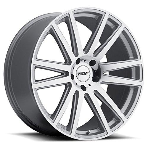 TSW Gatsby Wheel Rim Silver W/ Mirror Cut Face 22x9 5x120 - Gatsby Mirror