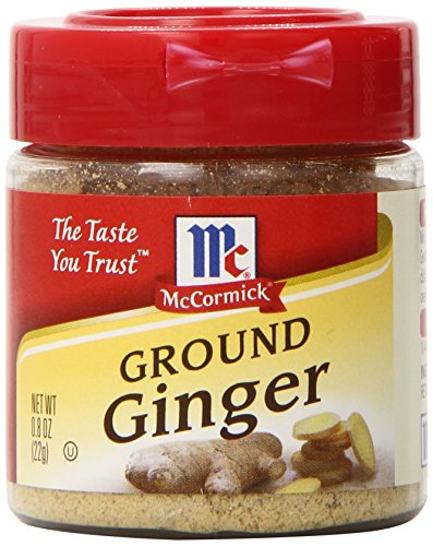 McCormick Ground Ginger, 0.8 oz (Pack of 6) (Mccormick Ground Ginger)